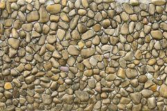 Texture of stones. The stone decorated the wall Royalty Free Stock Photos
