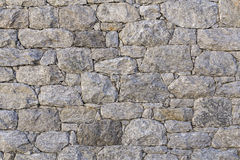 Texture of a stonewall Stock Photography