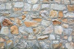Texture, stonework. Old stone masonry Royalty Free Stock Photo