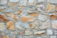 Texture, stonework. Old stone masonry Stock Image