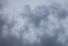 Texture of stormy clouds. Abstract stormy sky with patches of clouds Royalty Free Stock Photography