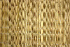 Texture - straw mat stock photo