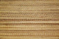 Texture - straw mat. Royalty Free Stock Images