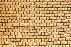 Texture of straw weaving, straw weaving , wicker bedding.  stock image