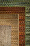 Texture straw. Texture woven straw background green, beige,brown royalty free stock photography