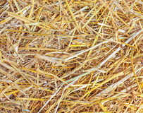 The texture of straw Stock Photos