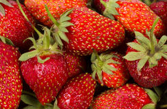 The texture of strawberries Royalty Free Stock Photo