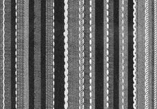 Texture a striped fabric Stock Images