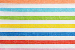 Texture of striped kitchen napkin Stock Photo