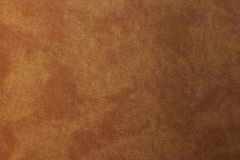 Texture of striped old brown leather, abstract background.  stock image