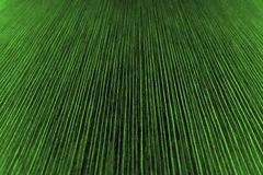Texture of the striped paper in dark green shade Stock Photo