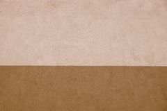 Texture striped plaster of two brown tones Stock Photo