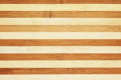 Texture of striped wooden boar Stock Images