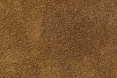 Texture of suede. Brown, studio, subject survey Royalty Free Stock Photo