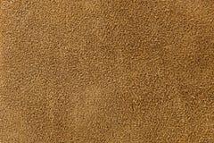 Texture of suede. Brown, studio, subject survey Stock Image