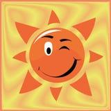 Texture sun Royalty Free Stock Photo