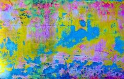 Texture superficielle par les agents et usée de surface de pierre de la colle Images stock