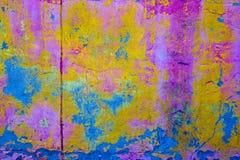 Texture superficielle par les agents et usée de surface de pierre de la colle Image stock