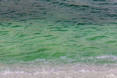 Texture of surface the Dead Sea Stock Photos