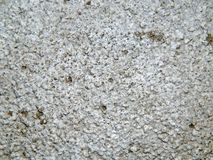 Texture of a surface of granular architectural putty Stock Photo