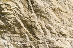 The texture of the surface of the mountain Stock Photos