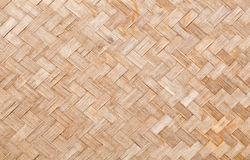 Texture surface of native thai style bamboo wall Royalty Free Stock Image