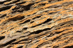 Texture of surface of rock Stock Images
