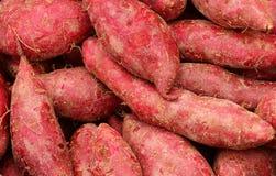 Texture of sweet potatoes Royalty Free Stock Photo