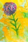 Texture symétrique de marbre créative Fond peint à la main vibrant d'aquarelle Recouvrement floral de cru Colorf chaotique décora illustration libre de droits