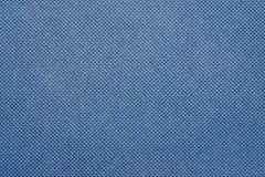 Texture of a synthetic grid blue color Royalty Free Stock Photo