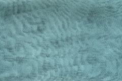 Texture synthetic mesh fabric of turquoise color Royalty Free Stock Photos