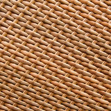 Synthetic rattan weave Stock Photo