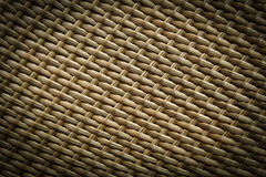 Texture of synthetic rattan weave Stock Images