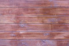 Texture table wooden brown free. Background of the tree, dark color boards, without objects. Harvesting wood horizontal. Boards stock photography