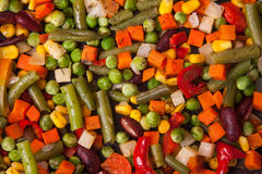 Texture of tasty fresh vegetables Royalty Free Stock Images