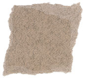Isolated Fiber Paper Texture - Taupe Gray XXXXL Stock Images