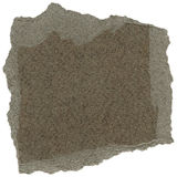 Isolated Fiber Paper Texture - Taupe Gray XXXXL Royalty Free Stock Image