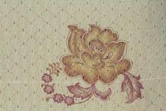Texture tecido e o wale da tela listrado aumentou foto de stock