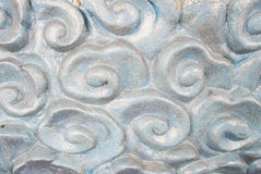 Texture of temple wall in Thailand. Royalty Free Stock Image
