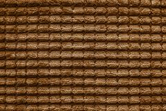 Texture of terry fabric brown color Stock Photos