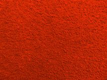 Texture terry fabric closeup - red royalty free stock images