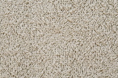 Texture of terry towel. Texture of beige terry towel Stock Image