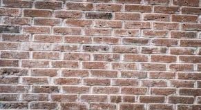 Texture texturisée d'une vieille lumière, mur de briques blanc, fond abstrait pour la conception photographie stock libre de droits