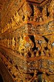 Texture thaïlandaise de modèle de fond de style Photo libre de droits