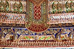 Texture thaïlandaise de peinture Photo stock
