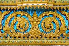 texture thai Arkivfoton
