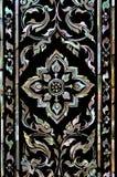 Texture thai art style Royalty Free Stock Image