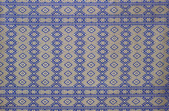 Texture of thai cloth Royalty Free Stock Photo