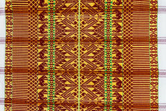 Texture of Thai cotton pattern Royalty Free Stock Photography
