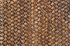 Texture of thai native weave Royalty Free Stock Image